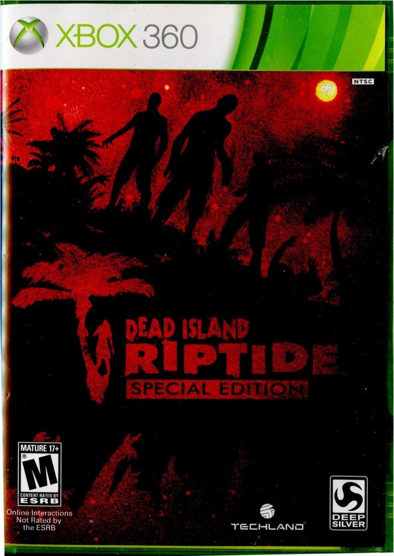 Dead Island Riptide Special Edition Xbox 360, 2013 Complete