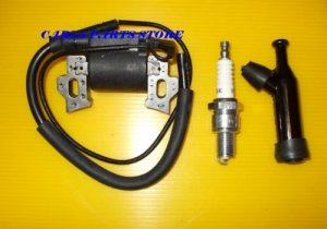IGNITION COIL, PLUG & CAP FITS HONDA 11HP 13HP ENGINES