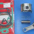 HONDA GX160 PISTON & RINGS, CONROD & GASKET SET