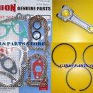 HONDA G200 PISTON RINGS CONROD & GASKET SET