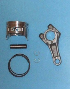 HONDA GXV120 PISTON,  RINGS AND CONROD