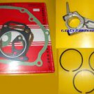 HONDA GX200 PISTON RINGS, CONROD & GASKET SET