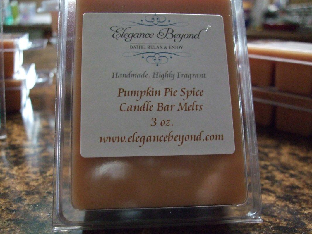 Pumpkin Pie Spice- Candle Bar Melts (ON SALE)