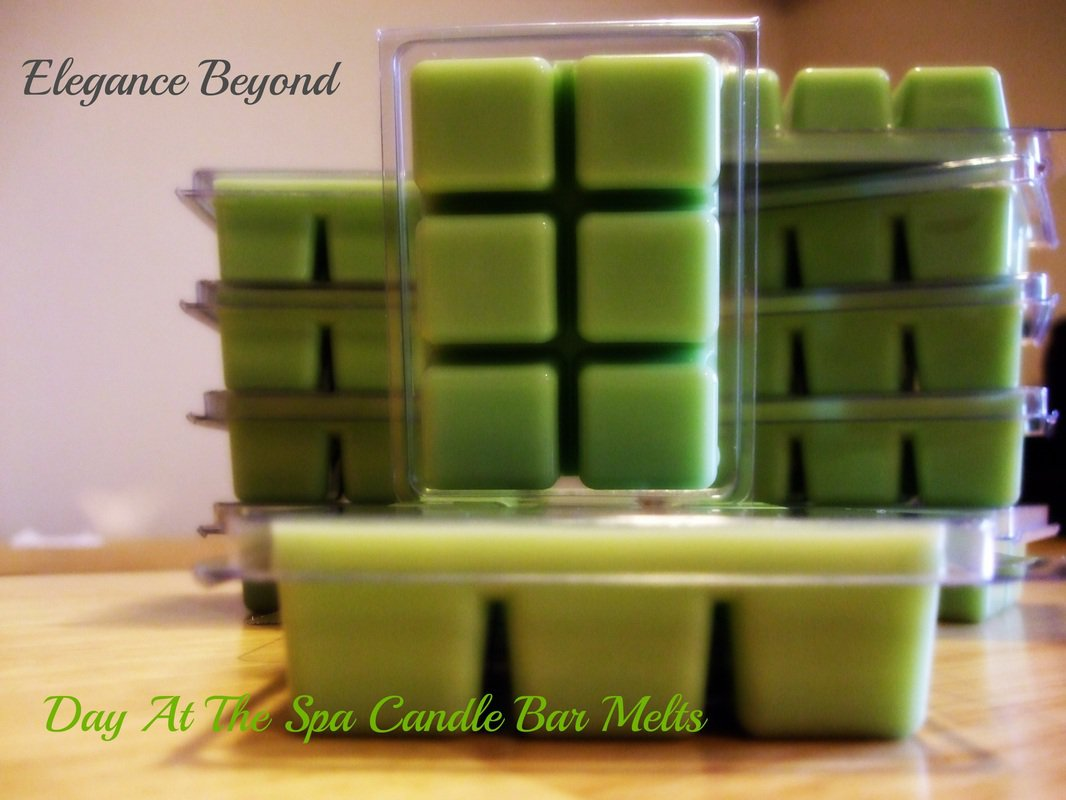 Day At The Spa- Candle Bar Melts