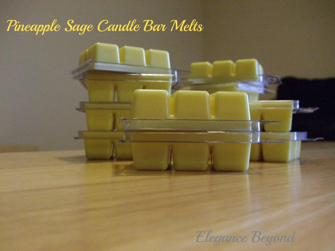 Pineapple Sage- Candle Bar Melts