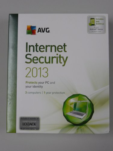 AVG Internet Security Suite 2013 Version 12.0, 3 Users