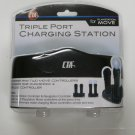 CTA Triple Port Charging Station for PlayStation Move Controllers