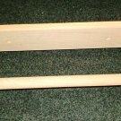 """Unfinished 12"""" Wood Paper Towel Holder"""