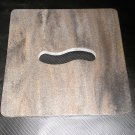 "RV Multi-Colored Swirl Sink Cover / Cutting Board   Size: 8 3/4"" X 8 3/4"" X 3/8"""