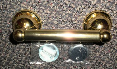 Dura Wall Mount Toilet Paper Holder - Polished Brass #TOLP-1PB