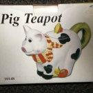 DSI Ceramic Pig Teapot #10148