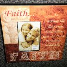 "CATO Corp Faith Is : 6"" X 4"" Photo Wall / Easel Frame #17024589F"