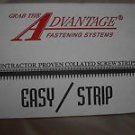 Drywall screws collated screw strips