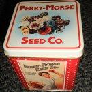 Bristol Ware Ferry-Morse Seed Co. Metal Tin
