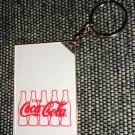 "Enjoy Coca Cola Photo Key Chain Holds 2"" X 3"" Photo"
