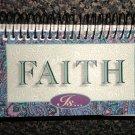 """Tyndale Calendar """" Faith Is """" Inspiration Desk Or Table Calendar"""