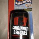 "PSG NFL Tailgating Cincinnati Bengals 1- 50"" Roll Non Adhesive Plastic Tape"
