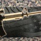"""Protect The 2nd Amendment Bumper Sticker Peel & Stick  11 1/4"""" W X 3"""" L"""