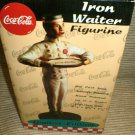 Coca Cola Iron Waiter Figurine Limited Edition - Numbered / 15,000 #C544210000
