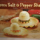 Giftco Inc Ceramic Handpainted Sombrero Salt And Pepper Shakers #3082