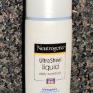 Neutrogena Ultra Sheer Liquid Daily Sunblock SPF 55 1.4 Oz