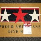 """Mohawk Patriotic Door Mat 18"""" X 24"""" - Proud Americans Live Here # LBL1112749"""