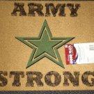 """Mohawk Patriotic Door Mat 18"""" X 24"""" - ARMY STRONG  # LBL1112744"""