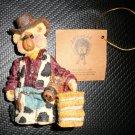Heartfelt Collectible Shelly Bear & Co - Cowboy Nicholas 1997  #9622
