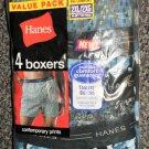 Hanes Men's Value Pack 4 Boxers - Comfort Flex Waistband Size 2X-Large / 44-46