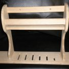 Dura Wall Mount Unfinished Spice And Knife Rack #PS04-AU