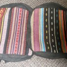 Girls Cloth Backpack Purse Multi Colored