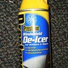 Prestone Windshield De-Icer With Built In Ice Scraper 11 Ounces