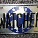 "Panzer Production Highlander "" Watcher "" Metal License Plate 11 7/8"" X 5 7/8"""