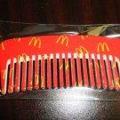 "Mc Donald's Mini Purse Or Doll Comb 1 1/4"" Wide X 3"" Long"