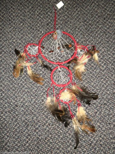 5 - Ring Red Indian Dreamcatcher #GD290061RI