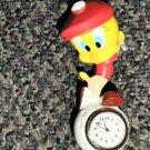 Westclox Looney Tunes Tweety Bird Miniature Clock #32353