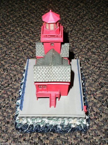 "Lefton's Historic American Lighthouse  ""Holland Harbor"" #CCM08665"