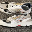Hongcen Men's White / Tan Athletic Shoes Size 9 / 42