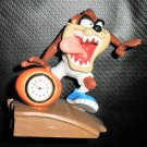 Westclox Looney Tunes Taz Basketball Miniature Clock #32354