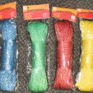 Global Brands / IIT 30m Poly Rope Select 1 Color : Blue, Green, Red Or Yellow #0