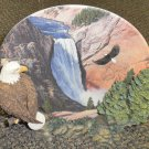 Hamilton Collection Noble Watch Eagle Limited Edition Plate 1998 #22287