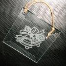 Glass Bells Christmas Ornament #70-300