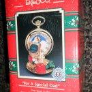 "Enesco Treasury Of Christmas Ornament ""For A Special Dad"" 1991 #586668"