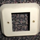 RV Almond Single Switchplate Cover