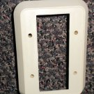 RV Almond Double Switchplate Cover