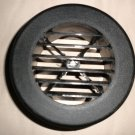 """D & W Sales Black Plastic 4"""" Snap On Rotaire Grille Vent   Set 2  #DWB4SORG"""