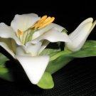 Roman, Inc Easter Lily Ceramic Flower 2000 #84251