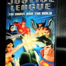 DC Comics Justice League The Brave And The Bold VHS Tape  Color 88 Minutes