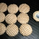 Troyer Products Button / Trim Screw Caps - Sandstone  Package 15