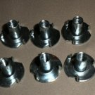 """Jayco 1/2"""" 3 Prong Tee Nuts  9 Piece Pack #0051694"""